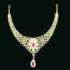 Gold Casting Necklace1250017