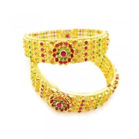 Gold Kolkata Bangles 1230008