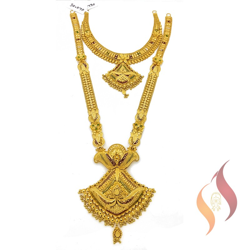 Gold Wedding Set 1250022