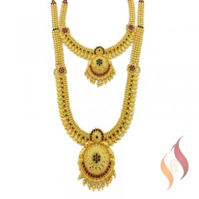 Gold Wedding Set 1250026