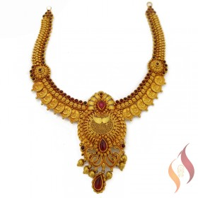 Gold Antique Necklace 1250028
