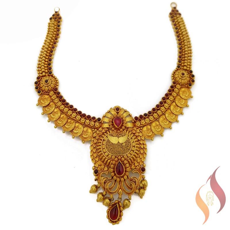 Gold Antique Necklace 1250028