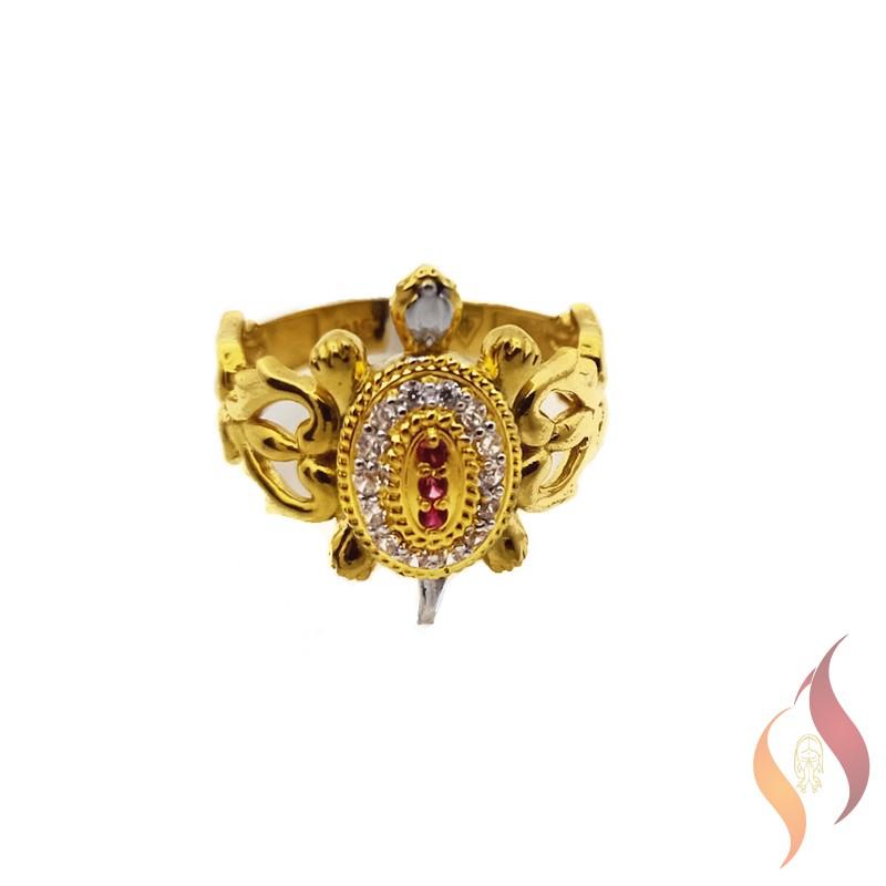Gold Tortise Ring 1040009