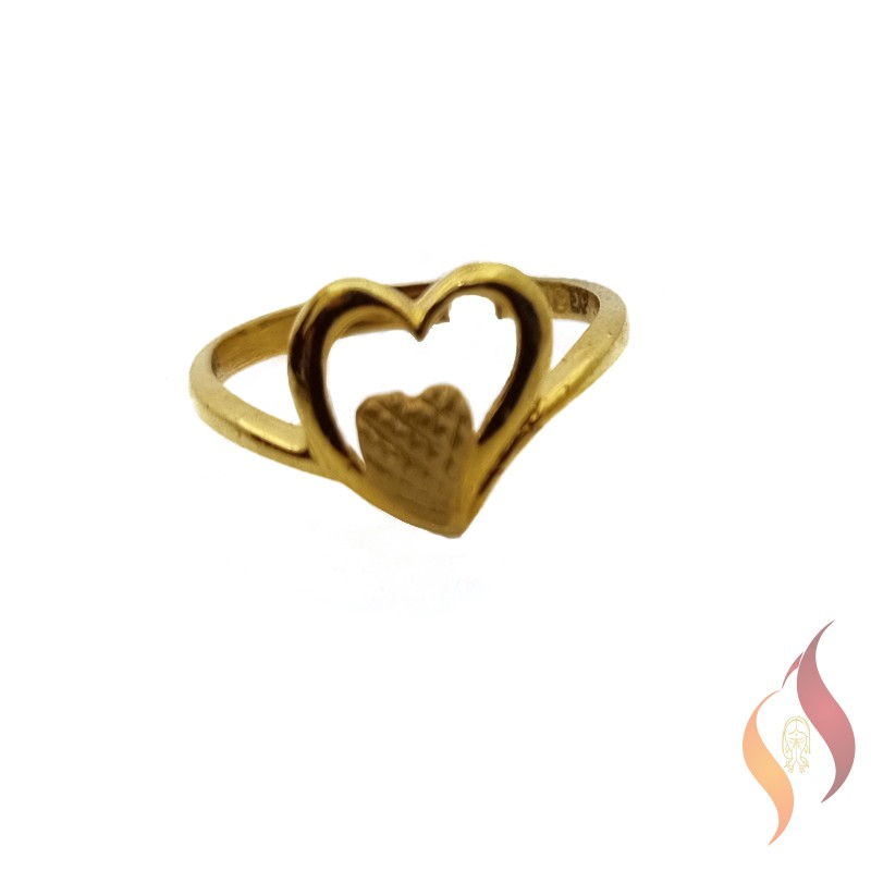 Gold Casting Ring 1040010