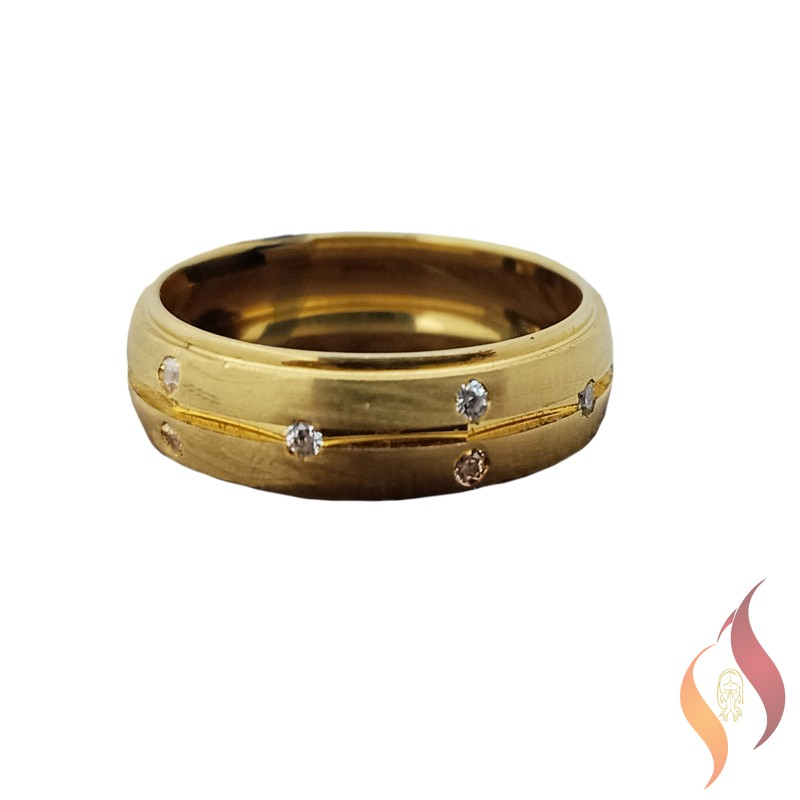 Gold Casting Ring 1040008