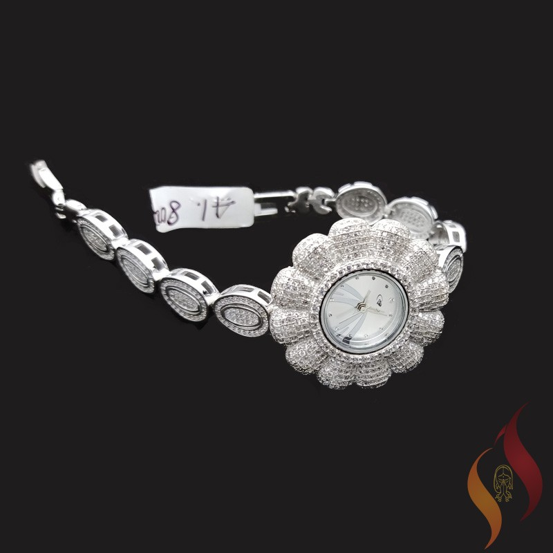 Silver Watch 0012