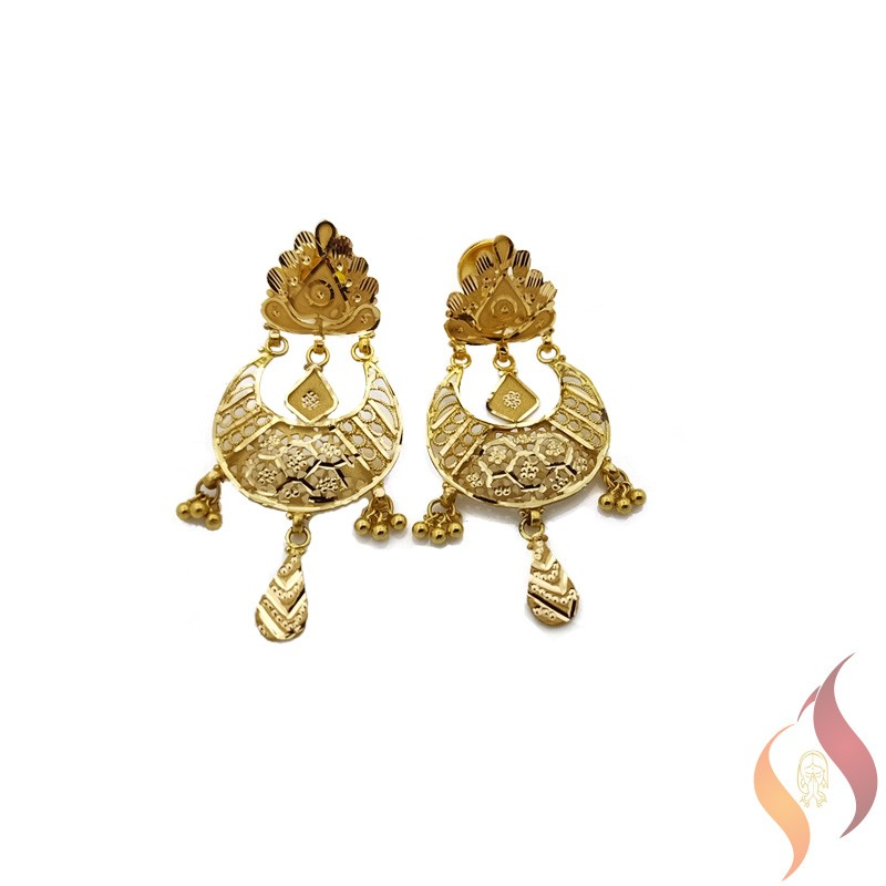 Gold Ear Rings 1020019