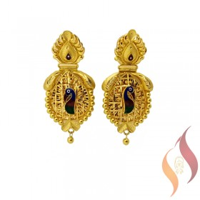 Gold Ear Rings 1020011