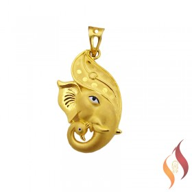Gold Mens Pendent 1310008