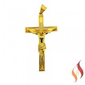 Gold Jesus Pendent 1310014