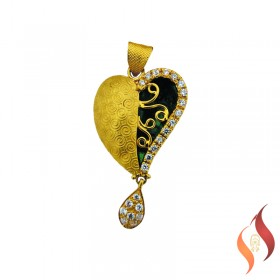Gold Fancy Pendent 1310015