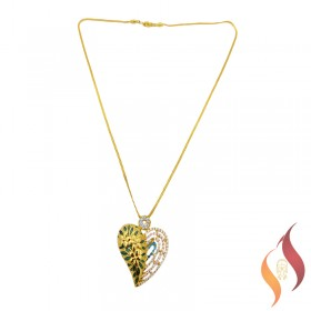 Gold Chain With Pendent 1010003