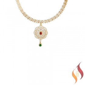 Gold Casting Necklace 1250040