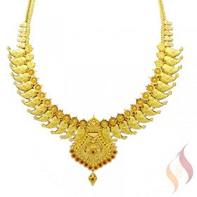 Gold Necklace 1250044