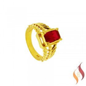 Gold Casting Ring 1040017