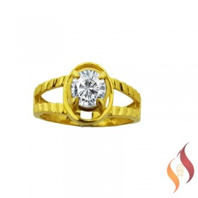 Gold Casting Ring 1040019