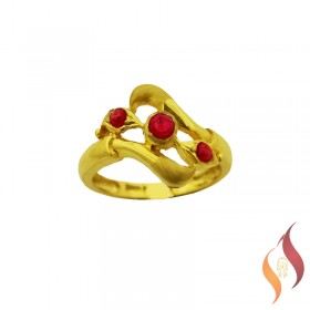 Gold Casting Ring 1040021