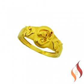 Gold Casting Ring 1040022
