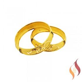 Gold Bangles 1230012