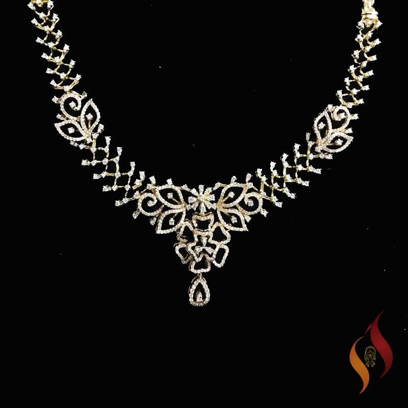 Diamond Necklace 0002