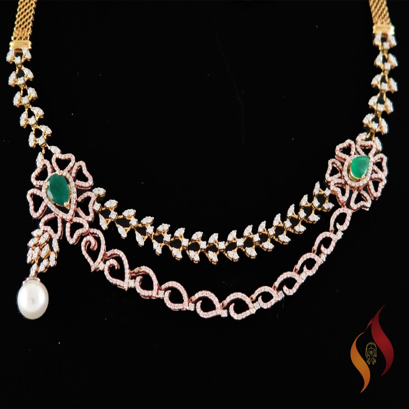 Diamond Necklace 0006