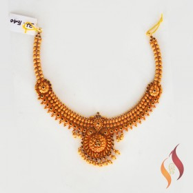 Rose Gold Necklace 1250042