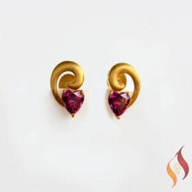 Gold Casting Earings 1020023