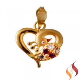 Gold Casting Pendent 1310022