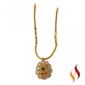 Gold Casting Necklace 1250058