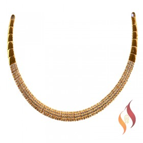 Gold Casting Necklace 1250059