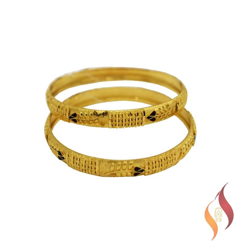 Gold Bangle 12300016