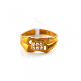 Gold Casting Ring 1040026