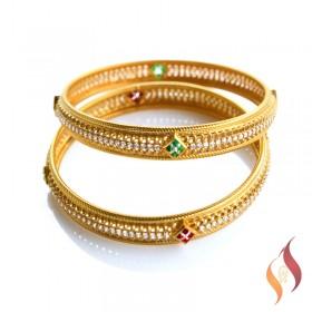 Gold Bangles 1230019