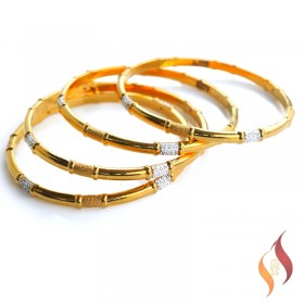 Gold Bangles 1230020