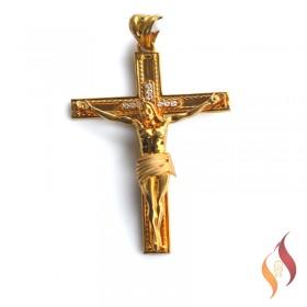 Gold Jesus Pendent 1310031