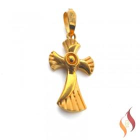 Gold Jesus Pendent 1310032