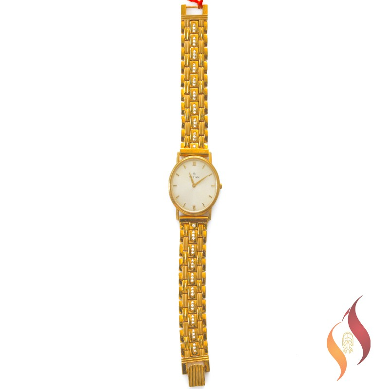 Gold Ladies Watch 1240001