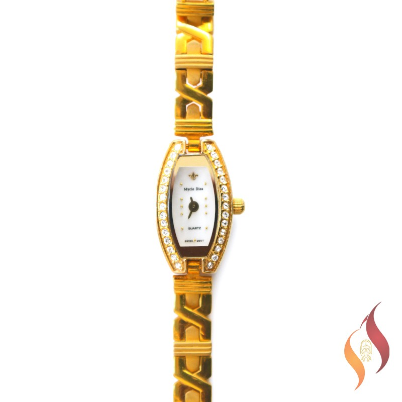 Gold Ladies Watch 1240004