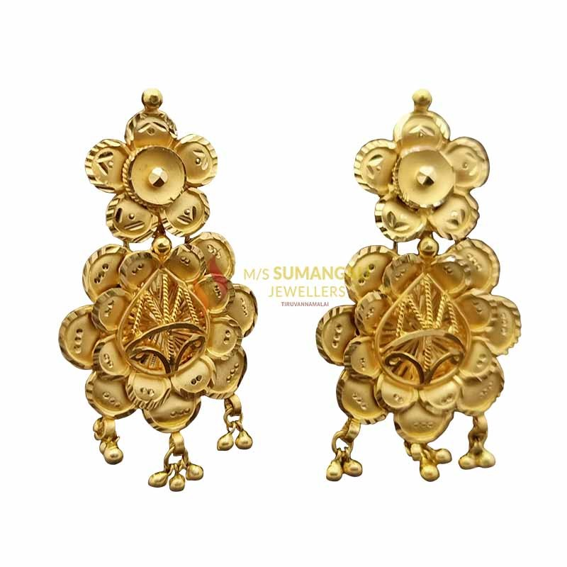 Gold Ear Rings 1020003