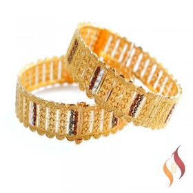 Gold Bangles 1230025