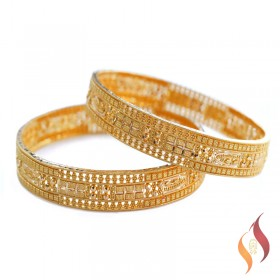 Gold Bangles 1230027