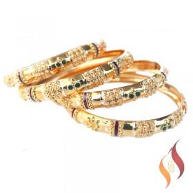Gold Bangles 1230024