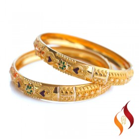 Gold Bangles 1230033