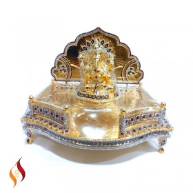 Silver Antique Pooja Items