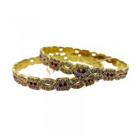 Gold Bangles 1230002