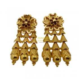 Gold Ear Rings 1020002