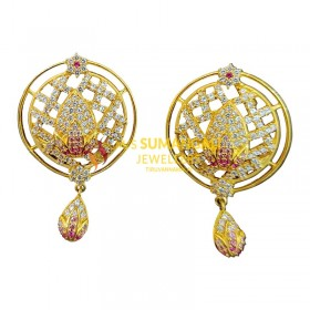 Gold Ear Rings 1020001
